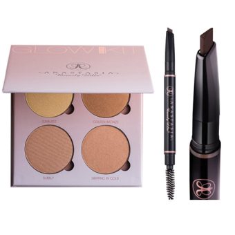 Anastasia Beverly Hills Glow Kit - (THAT GLOW) + Brow Definer (Soft Brown) Price Philippines