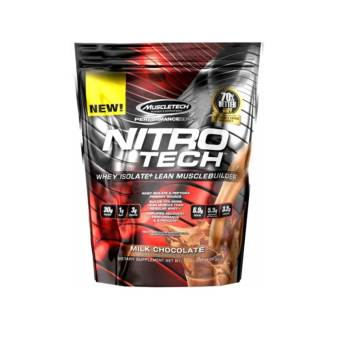 MuscleTech Nitro-Tech Performance Series Lean Muscle Builder - 10lbs - Chocolate Price Philippines