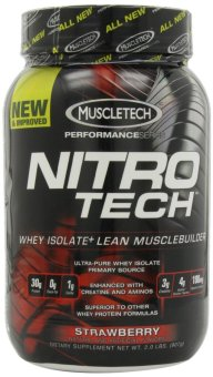MuscleTech Nitro-Tech Performance Series Strawberry 907 grams Price Philippines