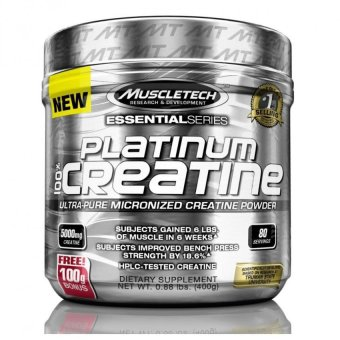 MuscleTech Platinum 100% Creatine, Ultra-Pure Micronized Creatine Powder, 80 Servings, 0.88 lbs (400g) Price Philippines