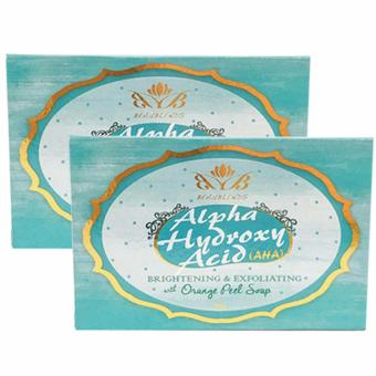 Harga Beaublends AHA Brightening and Exfoliating with Orange Peel Soap set of 2