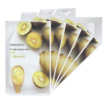 Innisfree It's Real Squeeze Mask- Kiwi 21g (Set of 5) Price Philippines