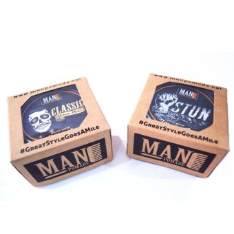 Man Pomade Classic and Stun (Water Based) 100g Bundle Price Philippines