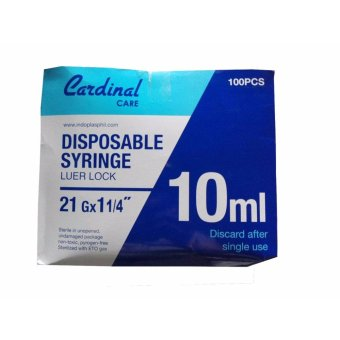 Harga Disposable Syringe 10ml (100's)