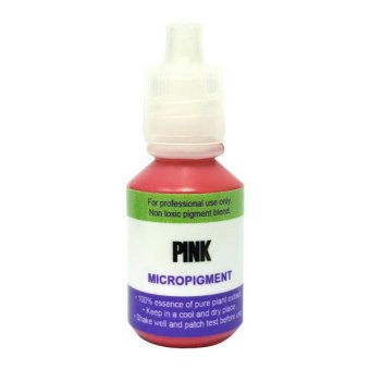 Contours Permanent Make Up Ink MicroPigment for Cosmetic Tattoo - Pink Price Philippines