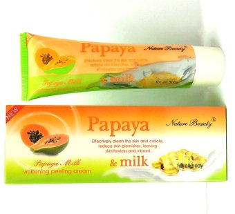 Harga Nature Beauty Papaya Milk Whitening Peeling Cream