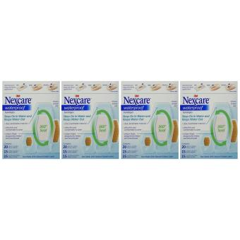 Nexcare Waterproof Clear Bandage Assorted Sizes 50Count Packages Pack Of 4 Price Philippines