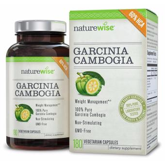 NatureWise Pure Garcinia Cambogia, 100% Natural HCA Extract Supports Weight Loss and Curbs Appetite, 180 Capsules Price Philippines