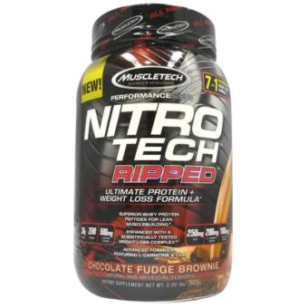 Muscletech Nitrotech Ripped 2 lbs. chocolate Price Philippines