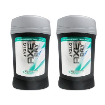 Apollo Axe Dry Anti-Perspirant Deodorant 48H Thermo Protection 40g 2's 178732 w39 Price Philippines