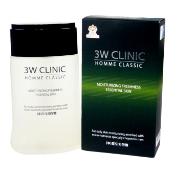 3W Clinic Homme Classic Moisturizing Freshness Essential Skin 150ml Price Philippines