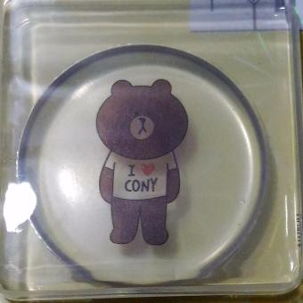 Harga Silicone Sponge with Container (Bear)