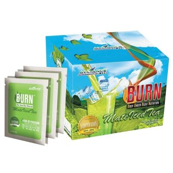 Harga Alliance Global BURN Mate Iced Tea 15, Box of 20