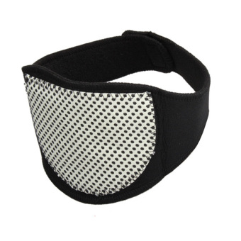 Harga Magnetic Therapy Neck Spontaneous Heating Headache Belt Neck Massager