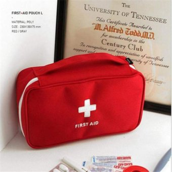 Harga First Aid Travel Kit (red)