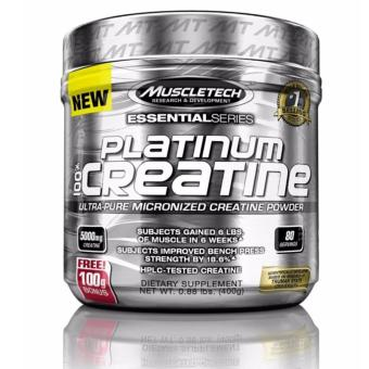 Muscletech Platinum 100% Creatine, Ultra-Pure Micronized Creatine Powder, 400g, 80 Servings (Unflavored) Price Philippines