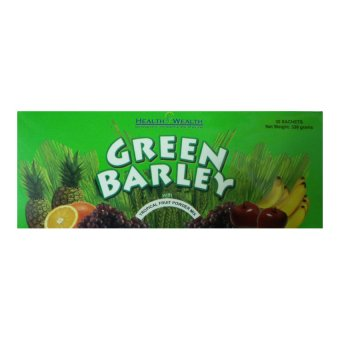 Harga Green Barley Tropical Food Powder Mix, 30 sachets