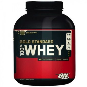 Harga Optimum Nutrition Gold Standard 100% Whey Protein 5lbs (Chocolate)
