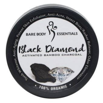 Bare Body Black Diamond (Activated Bamboo Charcoal) Price Philippines