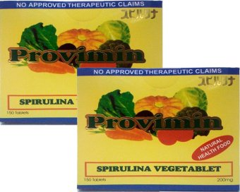 Provimin Spirulina VegeTablet 200mg Box of 150's (Set of 2) Price Philippines