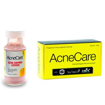Harga Acne Care Acne Drying Lotion and Soap Bundle