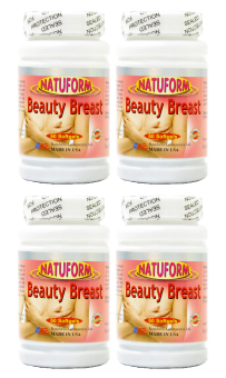 Natuform Beauty Breast Enhancer Bottle of 60 Set of 4 Price Philippines