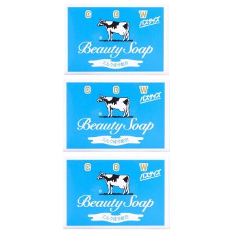 Beauty in Japan Beauty Cow Soap 135g Set of 3 Price Philippines