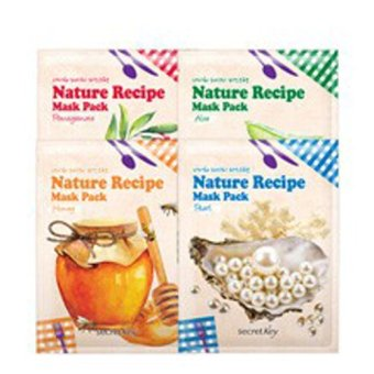 Harga Secret key Nature Recipe Mask Pack Aloe