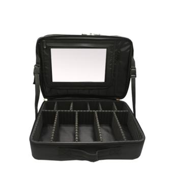 Suesh Double-Layer Cosmetic Shock Proof Bag with Mirror Price Philippines