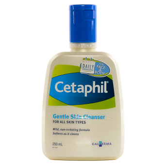 Harga Cetaphil Gentle Skin Cleanser For All Skin Types 250ml