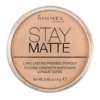 Harga Rimmel London Stay Matte Pressed Powder 14g (Buff Beige 012)