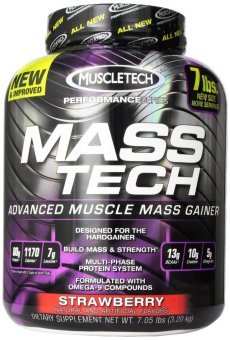 Muscletech Masstech Performance Supplement 7.05 Pounds (Strawberry) Price Philippines