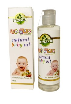Harga Dr.VCO Natural Baby Oil with Chamomile & Almond Oil 120ml