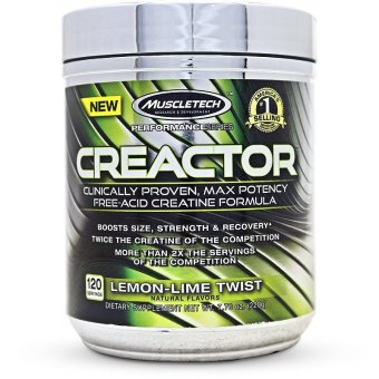 MuscleTech Creactor, Max Potency Creatine HCL Powder, 120 servings Price Philippines