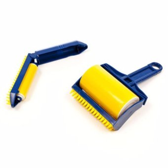 Hair Lint Dust Remover 2-Piece Set (Yellow/Blue) Price Philippines