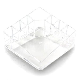 Harga Pop Art Kylie Clear Acrylic Cosmetic Makeup Storage Organizer(8820)