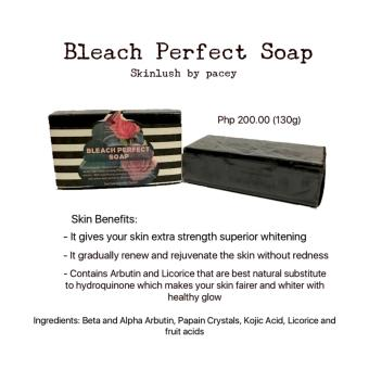 Skinlush by Pacey Bleach Perfect Soap 130g Price Philippines