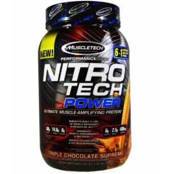 Muscletech Nitrotech Power 2 lbs. Chocolate Price Philippines