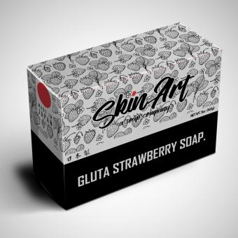 Skin Art GLUTA STRAWBERRY SOAP. Price Philippines