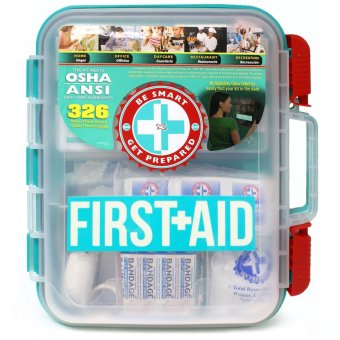 326 pc Emergency First Aid Kit Workplace OSHA ANSI Price Philippines