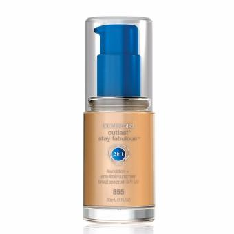 Harga CoverGirl Outlast Stay Fabulous 3-in-1 Foundation (Soft Honey 855)