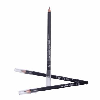 3w clinic eyebrow pencil {#3 black brown} Price Philippines