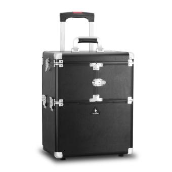 Harga Gladking Philippines T- Makeup Trolley/ 9008K-LBK (Leather Black)