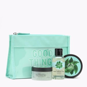 Harga The Body Shop Fuji Green Tea Beauty Bag