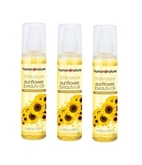 Harga Human Heart Nature Sunflower Beauty Oil 100ml Set of 3