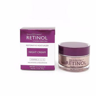 Harga Skincare LdeL Cosmetics Retinol Night Cream, 2.25oz Jar