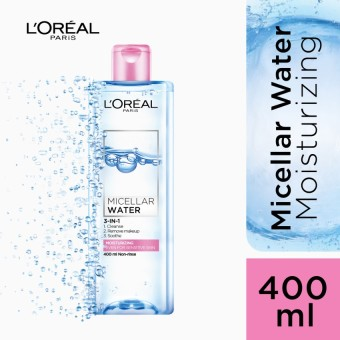 Harga L'Oreal Paris Micellar Water - Nourishing (Pink) 400mL