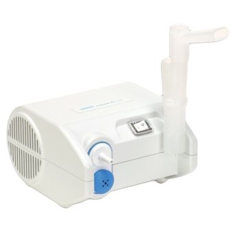 Harga New Omron NE-C25S Compressor Nebulizer for Efficiency Respiratory Therapy White