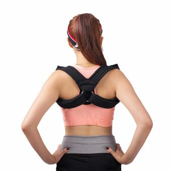 Harga (Large)Figure 8 Clavicle Support Brace Strap and Posture Corrector Shoulder Supports Prevents Slouching and Humpback - intl