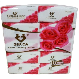 Harga Shuta Rose Tissue Facial Tissue 300 Sheets By 10's Buy 2 Get 1 Pack For Free